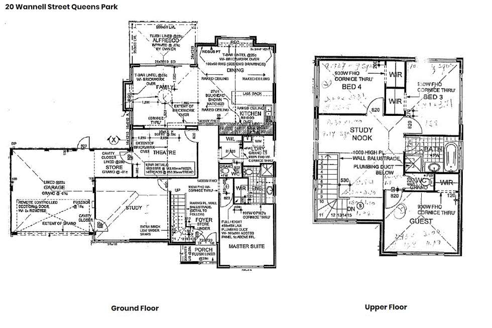 Floorplan of Homely house listing, 20 Wannell Street, Queens Park WA 6107