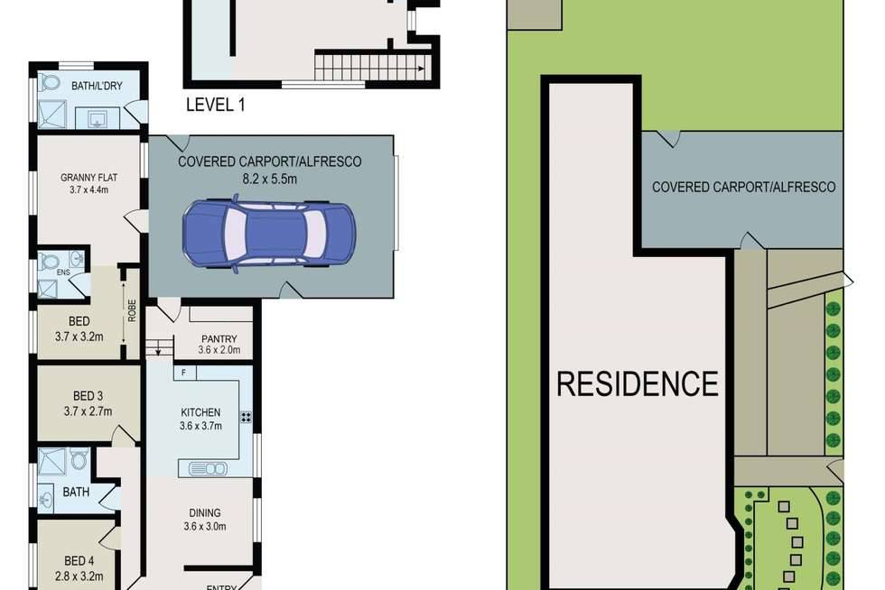 Floorplan of Homely house listing, 58 Cambridge Street, Canley Heights NSW 2166