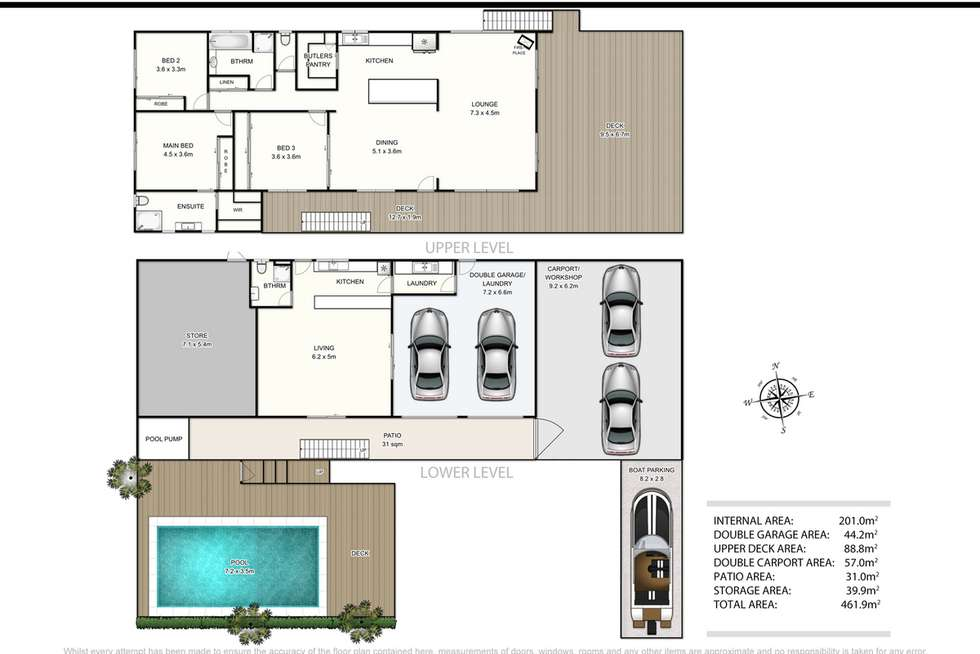 Floorplan of Homely house listing, 21 Babirra Street, Hope Island QLD 4212