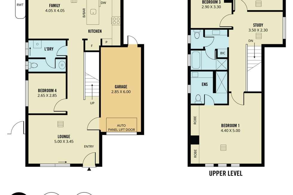 Floorplan of Homely house listing, 18 William Langman Circuit, Ridleyton SA 5008
