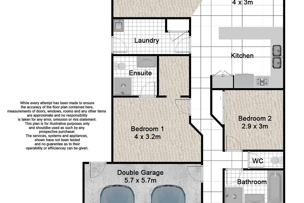 Floorplan of Homely house listing, 14 Capricorn Avenue, Crestmead QLD 4132