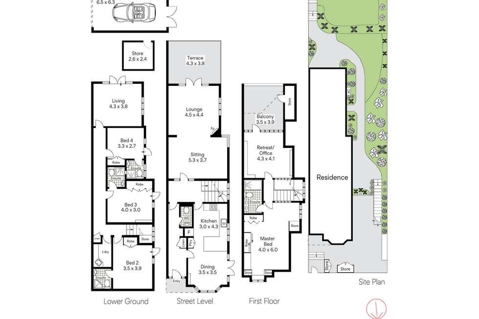 Floorplan of Homely house listing, 12A Milner Street, Mosman NSW 2088