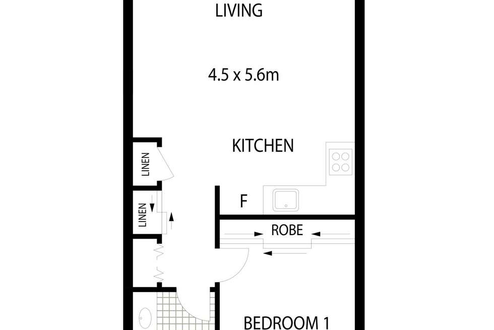 Floorplan of Homely apartment listing, 18/126 Thynne Street, Bruce ACT 2617