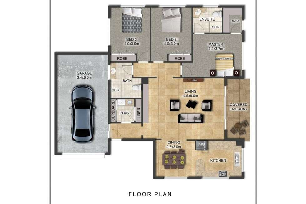 Floorplan of Homely unit listing, 1/38 Bay Street, Tweed Heads NSW 2485