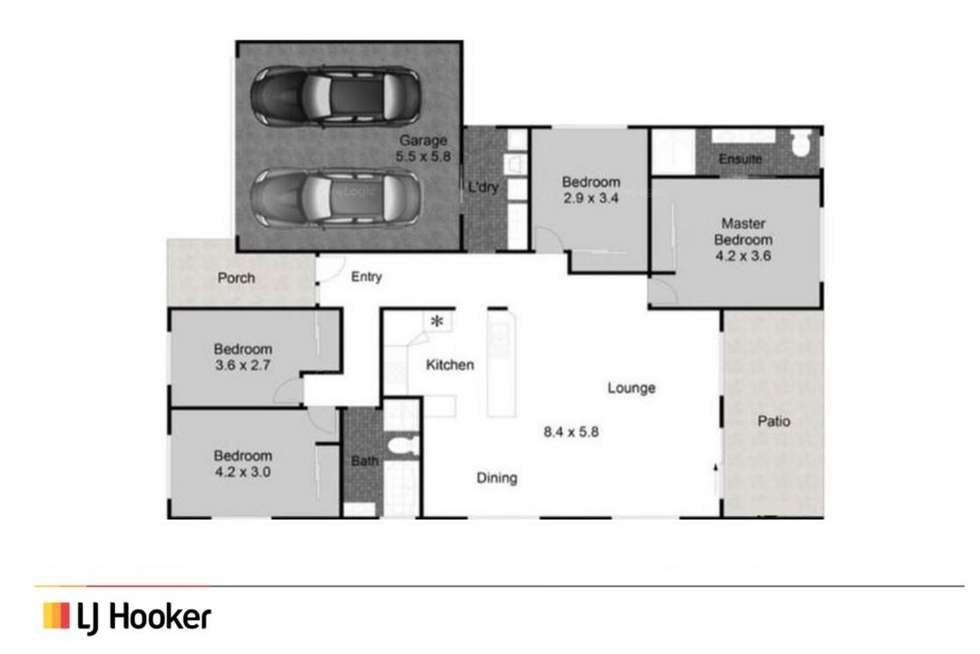 Floorplan of Homely house listing, 13/44-48 McLaren Road, Nerang QLD 4211