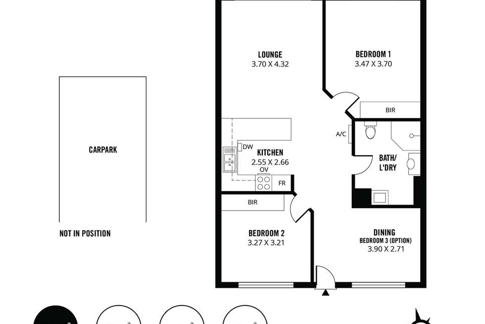 Floorplan of Homely apartment listing, 22/430 Pulteney Street, Adelaide SA 5000