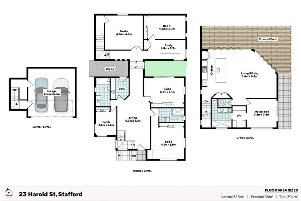 Floorplan of Homely house listing, 23 Harold Street, Stafford QLD 4053