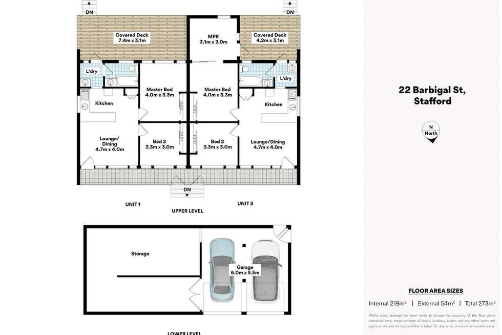 Floorplan of Homely house listing, 22 Barbigal Street, Stafford QLD 4053