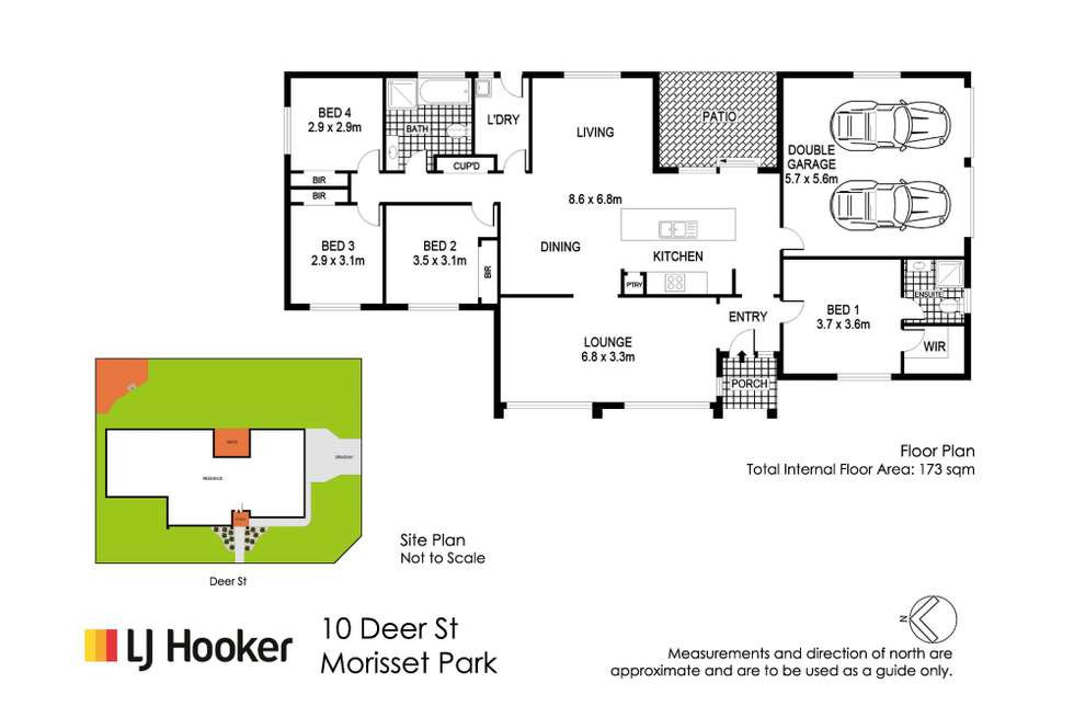 Floorplan of Homely house listing, 10 Deer Street, Morisset Park NSW 2264