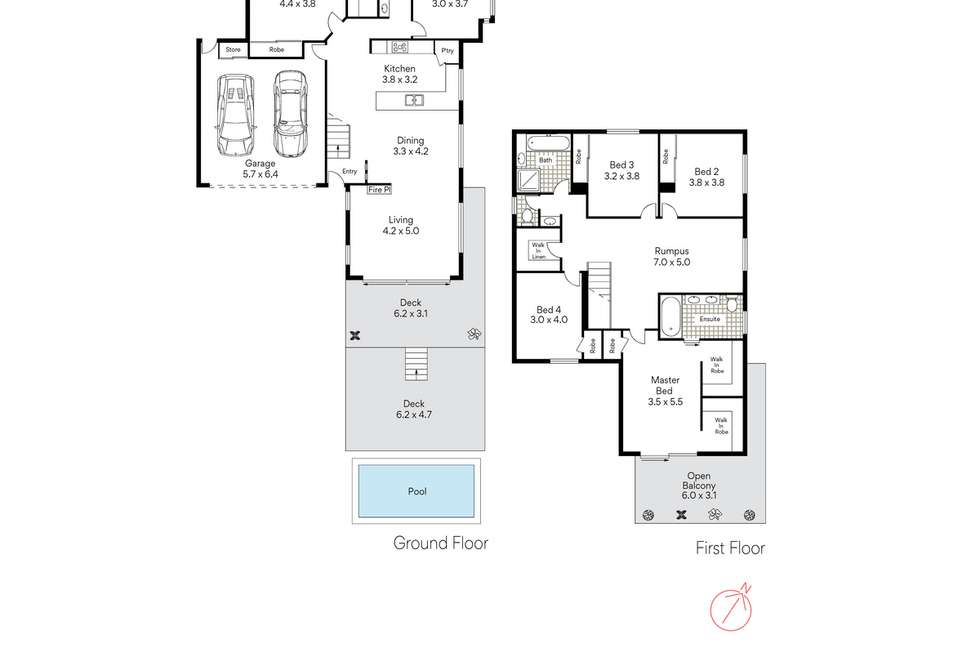 Floorplan of Homely house listing, 18 Dodwell Street, Holland Park West QLD 4121