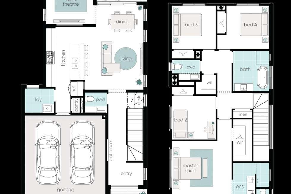 Floorplan of Homely house listing, 21 Glossodia Avenue, Leppington NSW 2179