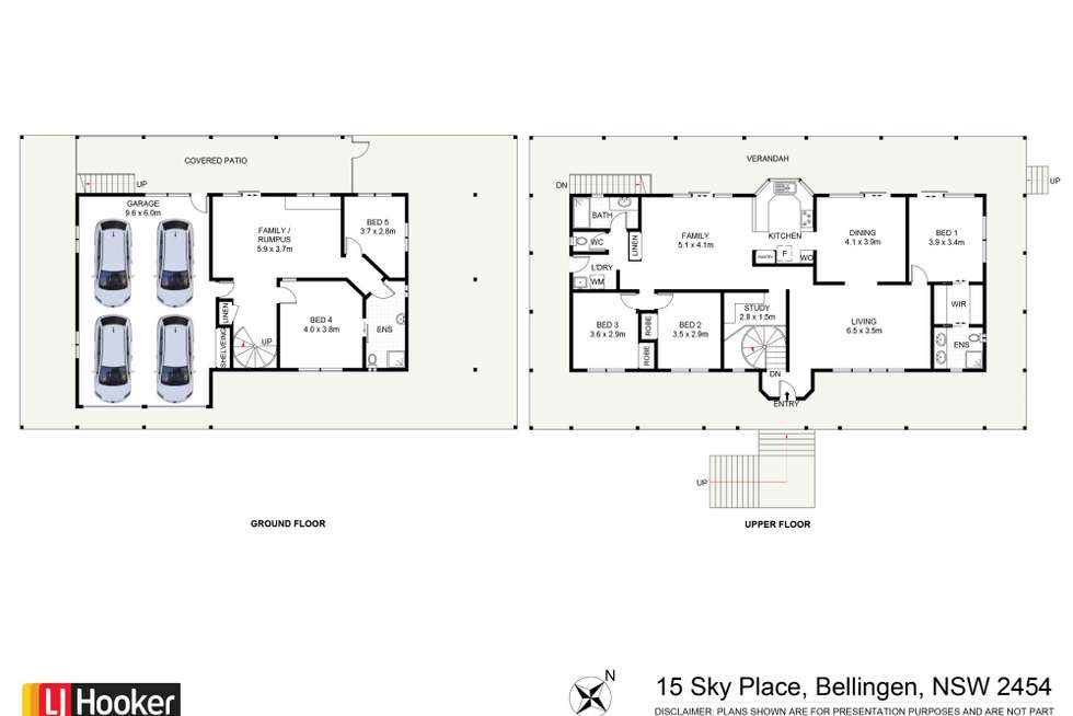 Floorplan of Homely house listing, 15 Sky Place, Bellingen NSW 2454