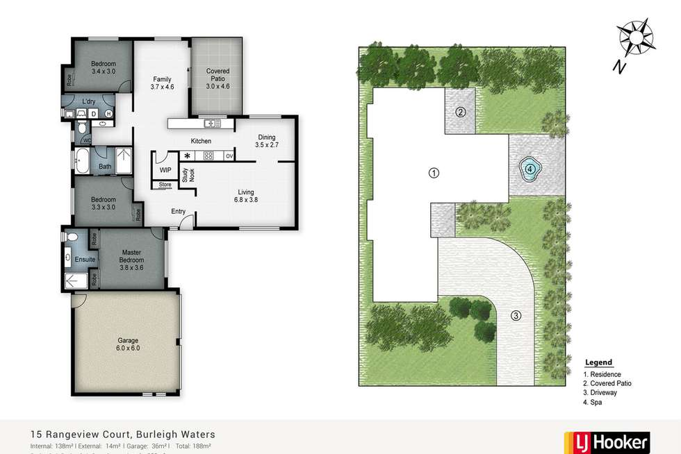 Floorplan of Homely house listing, 15 Rangeview Court, Burleigh Waters QLD 4220