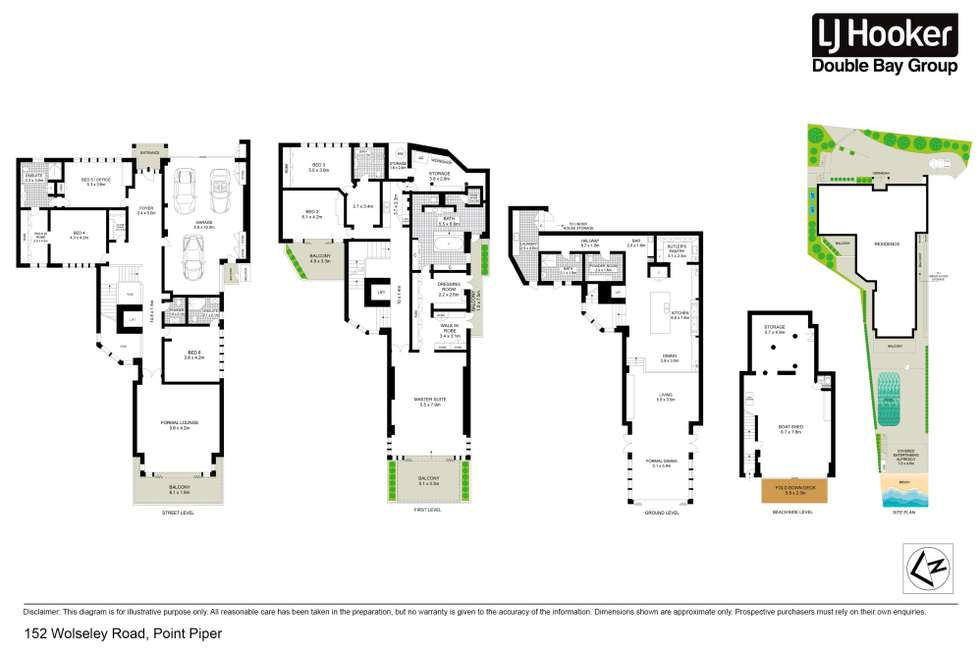 Floorplan of Homely house listing, 152 Wolseley Road, Point Piper NSW 2027
