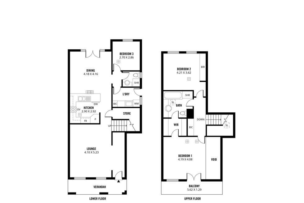 Floorplan of Homely house listing, 2/14 Osmond Terrace, Norwood SA 5067