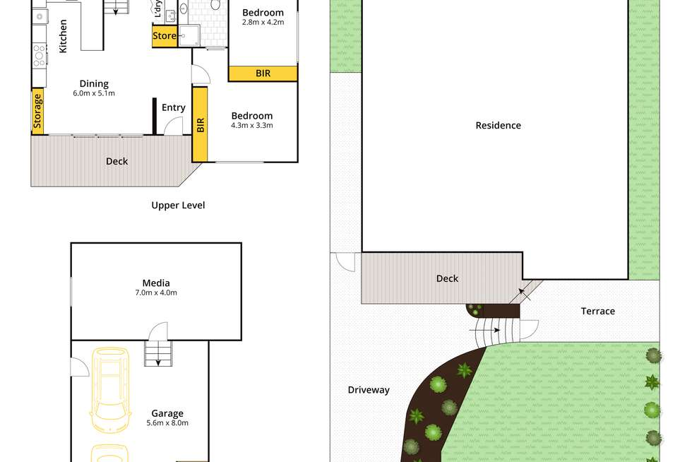 Floorplan of Homely house listing, 269 Warringah Road, Beacon Hill NSW 2100