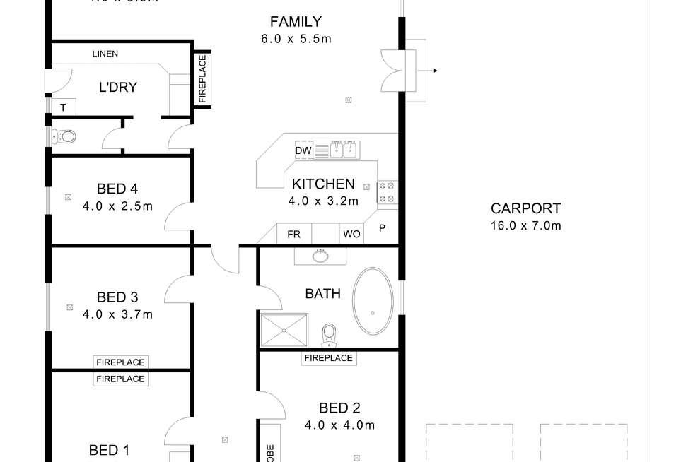 Floorplan of Homely house listing, 23 Third Avenue, Cheltenham SA 5014