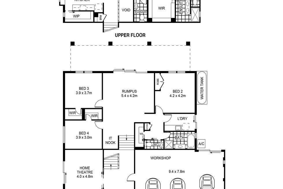 Floorplan of Homely house listing, 42 Crown Street, Belmont NSW 2280