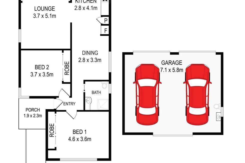 Floorplan of Homely house listing, 83 Chiswick Rd, Auburn NSW 2144