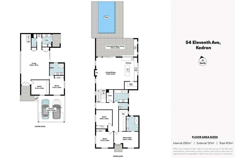 Floorplan of Homely house listing, 54 Eleventh Avenue, Kedron QLD 4031