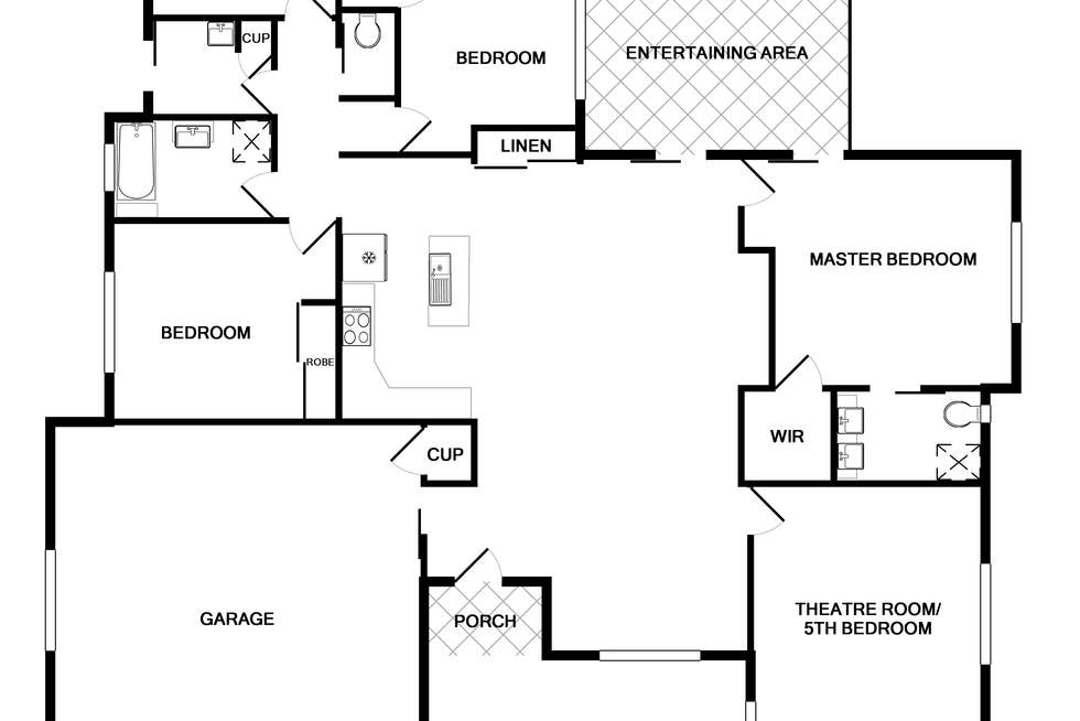 Floorplan of Homely house listing, 2 Stan Jones Street, Norman Gardens QLD 4701
