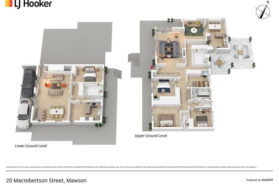 Floorplan of Homely house listing, 20 Macrobertson Street, Mawson ACT 2607
