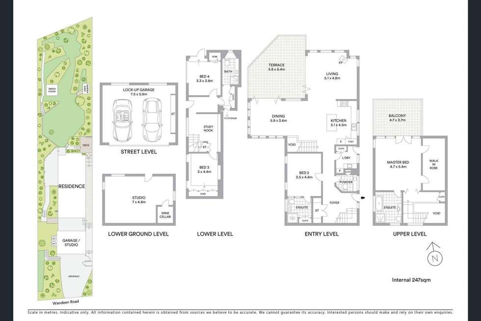 Floorplan of Homely house listing, 16 Wandeen Road, Clareville NSW 2107