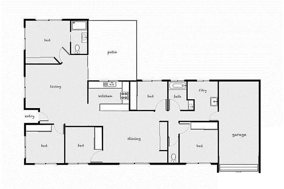 Floorplan of Homely house listing, 91 Jungara Road, Redlynch QLD 4870