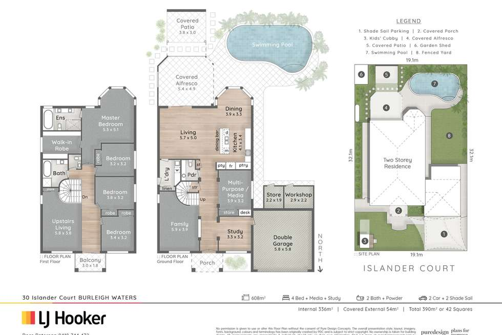 Floorplan of Homely house listing, 30 Islander Court, Burleigh Waters QLD 4220