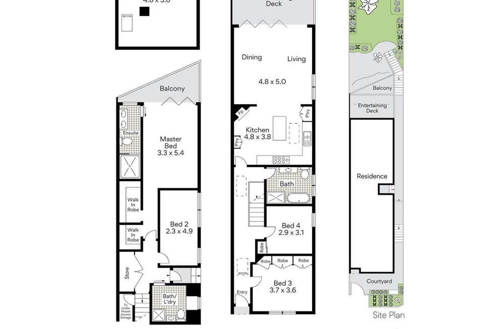 Floorplan of Homely house listing, 24 Somerset Street, Mosman NSW 2088
