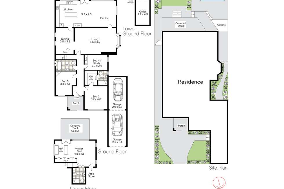Floorplan of Homely house listing, 24 Thompson Street, Mosman NSW 2088