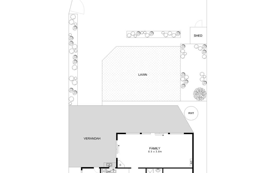 Floorplan of Homely house listing, 828 Military Road, North Haven SA 5018