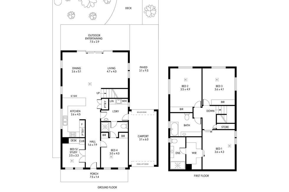 Floorplan of Homely house listing, 19 Maesbury Street, Kensington SA 5068