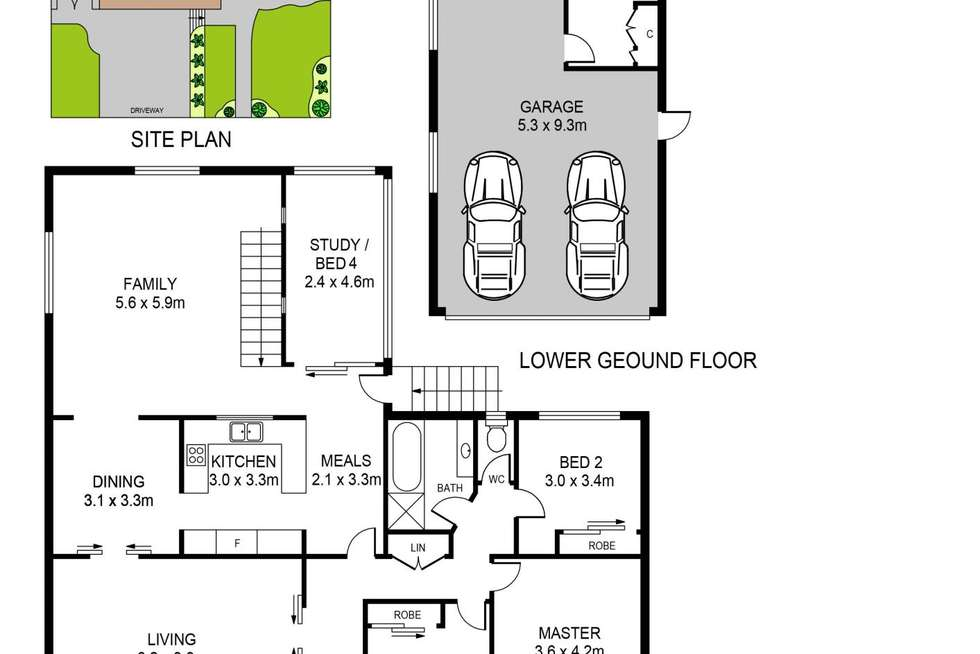 Floorplan of Homely house listing, 151 Johnston Road, Bass Hill NSW 2197