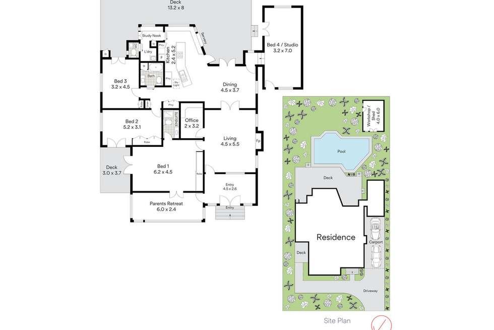 Floorplan of Homely house listing, 23 Burlington Street, Holland Park QLD 4121