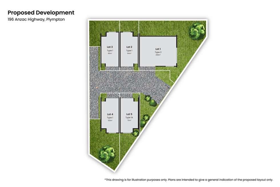 Floorplan of Homely townhouse listing, 1-5/196 Anzac Highway, Plympton SA 5038