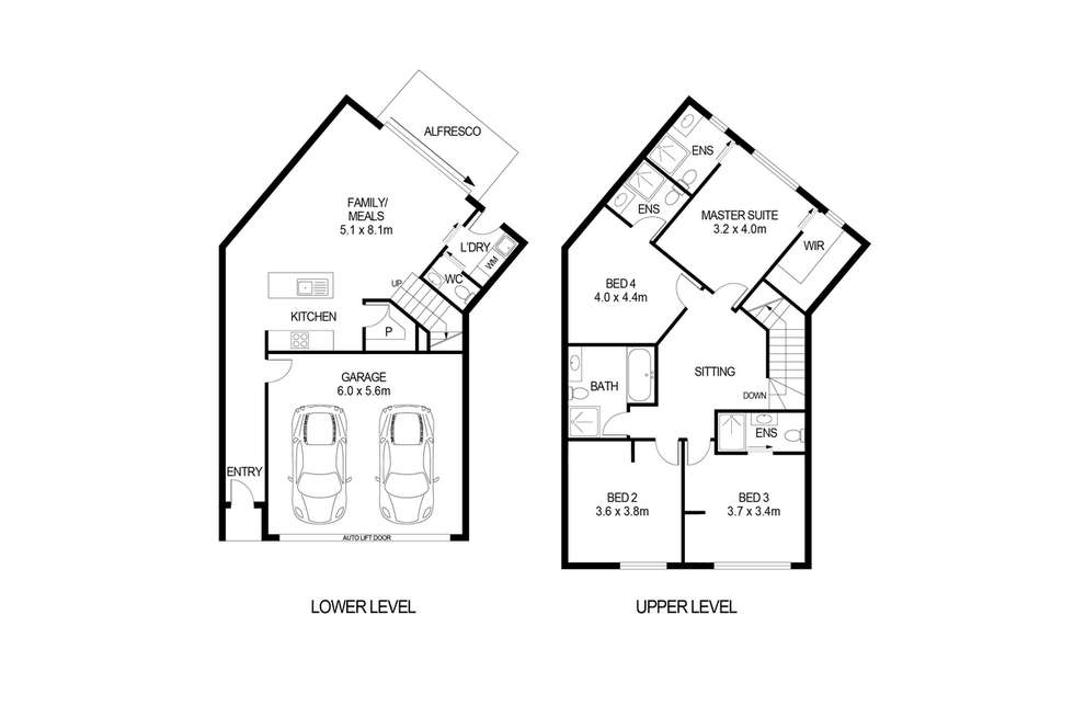 Floorplan of Homely townhouse listing, 90 Hectorville Road, Hectorville SA 5073