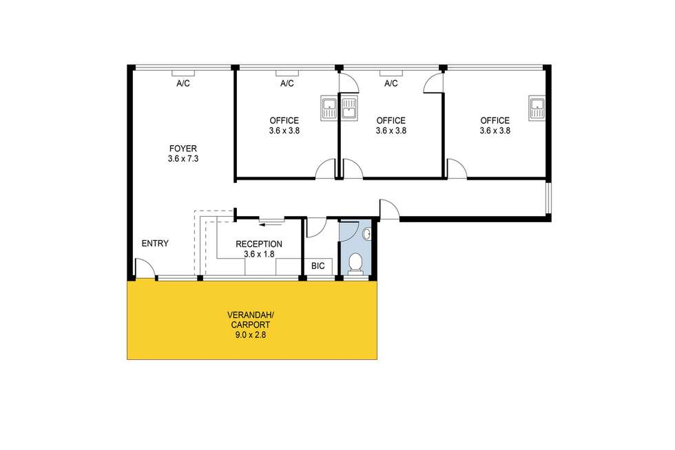 Floorplan of Homely house listing, 9 Blake Road, Elizabeth South SA 5112
