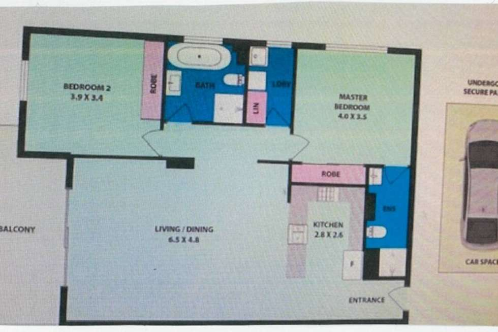Floorplan of Homely apartment listing, 343/360 The Horsley Drive, Fairfield NSW 2165