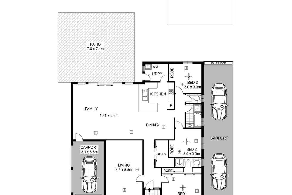 Floorplan of Homely house listing, 27 Copas Drive, Salisbury East SA 5109