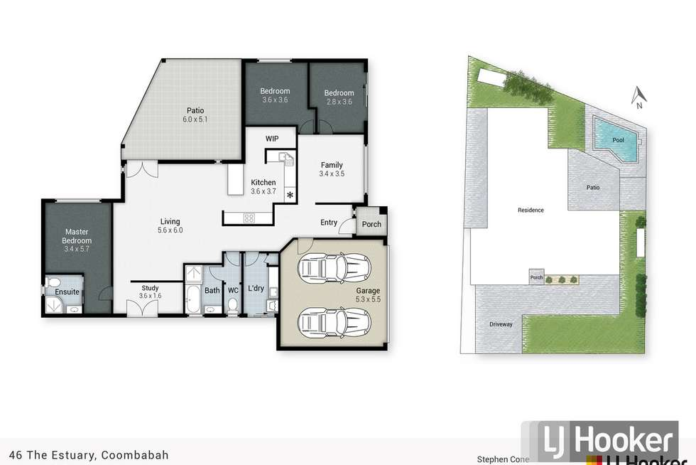 Floorplan of Homely house listing, 46 The Estuary, Coombabah QLD 4216