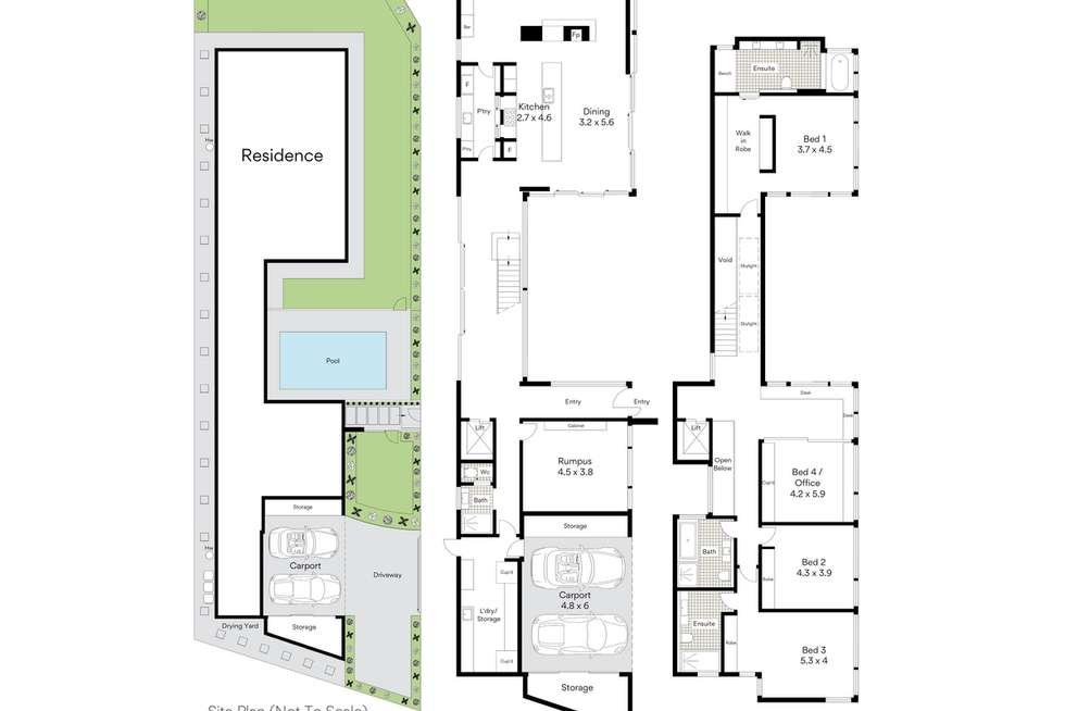 Floorplan of Homely house listing, 16 Thompson Street, Mosman NSW 2088
