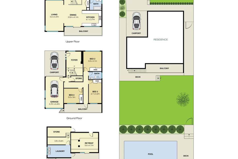 Floorplan of Homely house listing, 21 Arnott Crescent, Warriewood NSW 2102