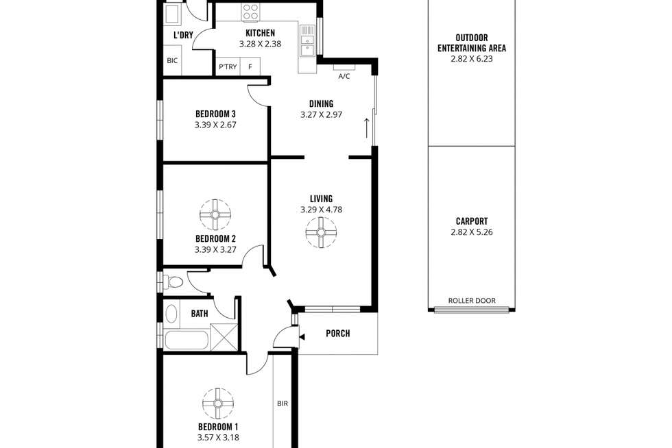 Floorplan of Homely house listing, 7/2 Briar Road, Felixstow SA 5070