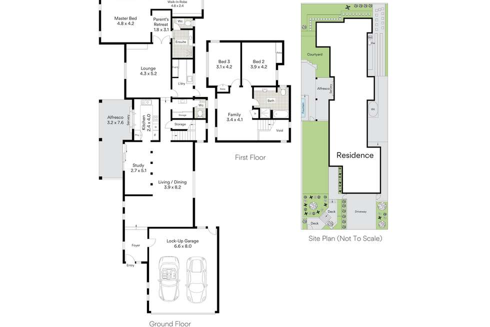 Floorplan of Homely house listing, 8 Lacon Street, Holland Park West QLD 4121