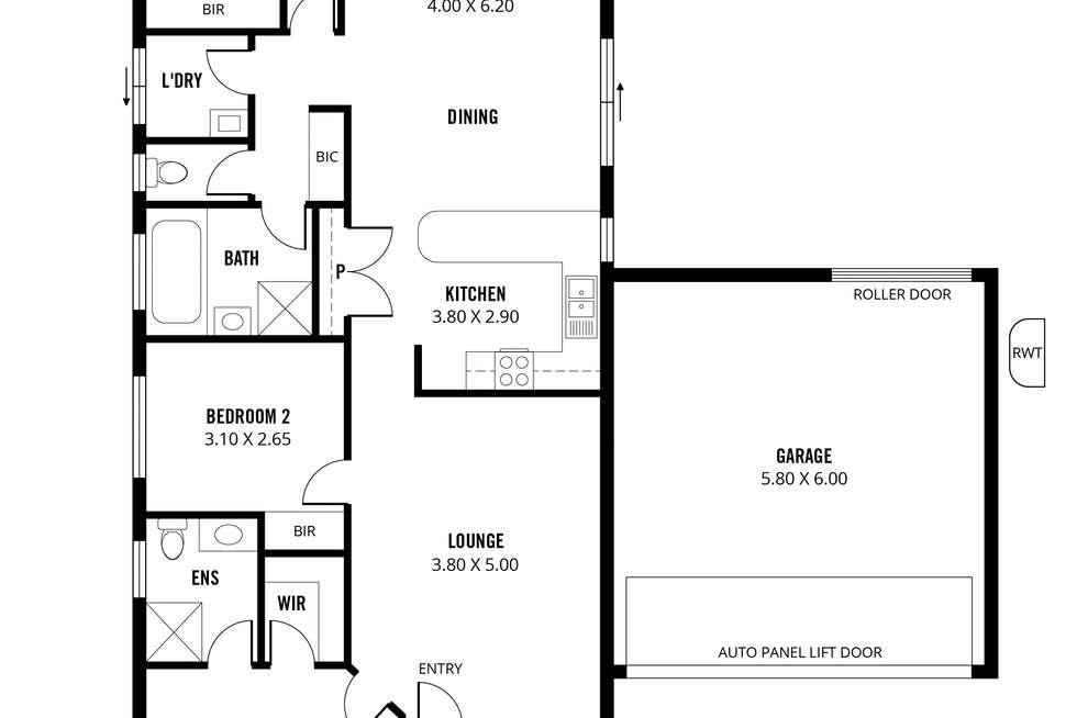 Floorplan of Homely house listing, 18 Belmont Crescent, Mount Barker SA 5251