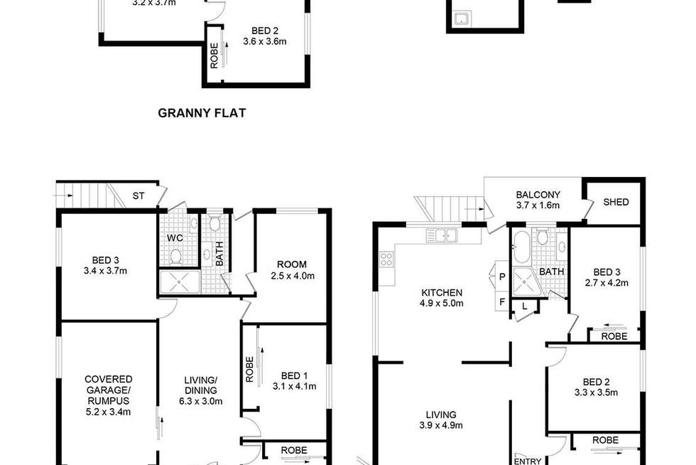 Floorplan of Homely house listing, 49 Avenel Street, Canley Vale NSW 2166