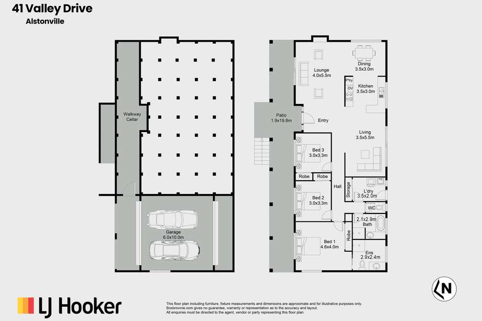 Floorplan of Homely house listing, 41 Valley Drive, Alstonville NSW 2477
