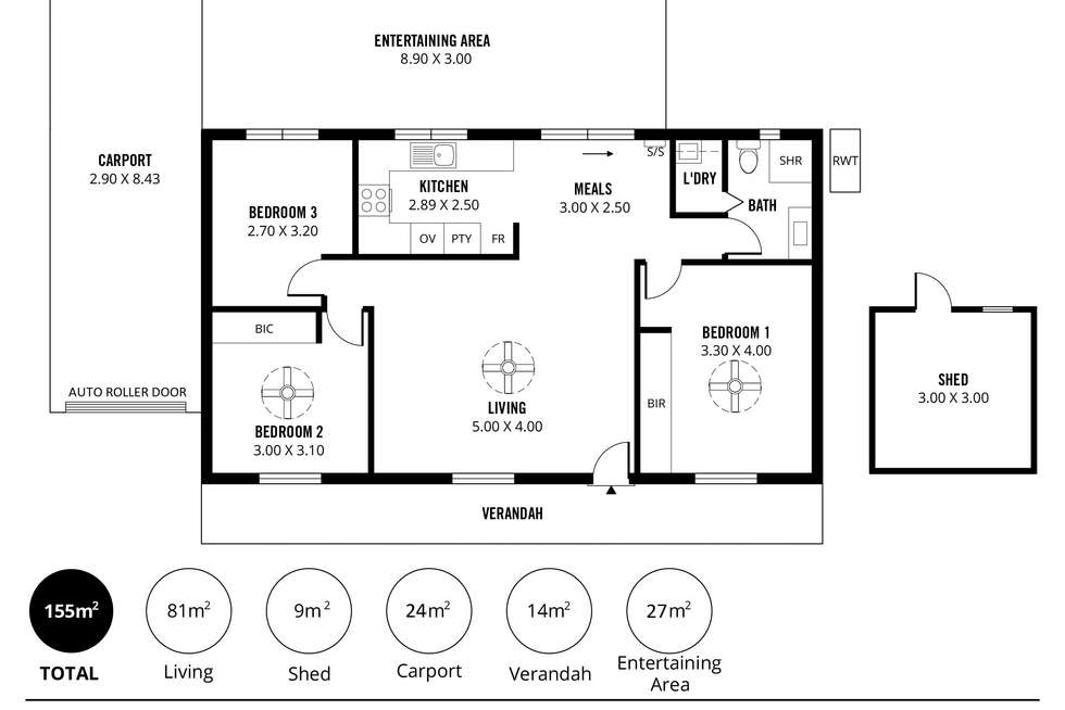 Floorplan of Homely house listing, 2 Ibis Court, Mount Barker SA 5251