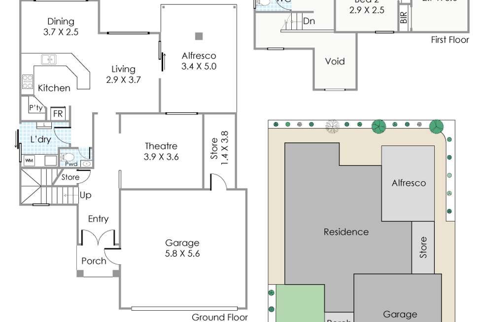 Floorplan of Homely house listing, 170 Gloucester Street, Victoria Park WA 6100